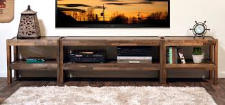 Rustic Reclaimed TV Stand Entertainment Center