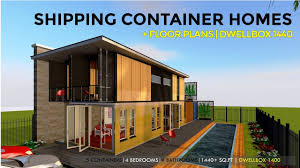 100 Homes From Shipping Containers Floor Plans Container HOMES PLANS And MODULAR PREFAB Design Ideas DWELLBOX 1440