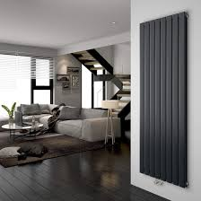 design flach heizkörper 630 x 850 mm horizontale antrazit