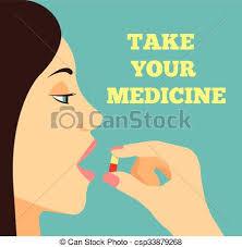 Take Your Medicine Vector