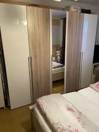 schlafzimmer komplett wie neu mit lattenrost