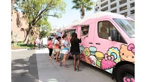 Hello Kitty Cafe Truck Returning To Bay Area In May - KRON Hello Kitty Food Truck Toy 300hkd Youtube Hello Kitty Cafe Popup Coming To Fashion Valley Eater San Diego Returns To Irvine Spectrum May 23 2015 Eat With Truck Miami Menu Junkie Pinterest The Has Arrived In Seattle Refined Samantha Chic One At The A Dodge Ram On I5 Towing A Ice Cream Truck Twitter Good Morning Dc Bethesda Returns Central Florida Orlando Sentinel