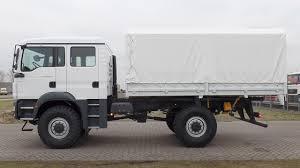 100 Bb Trucking Ma3889 MAN TGM 13240 BB 4x4 With Tarpaulin NEW YouTube