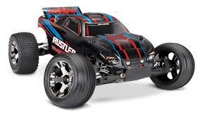 100 Stadium Truck TRA370764 Rustler VXL 110 Scale Fast Eddies