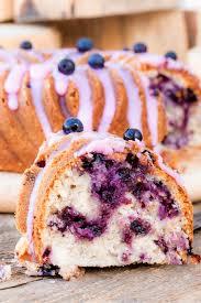 landfrauen blaubeer kuchen mit schmand