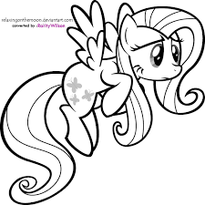 My Little Pony Friendship Is Magic Coloring Pages Best Of