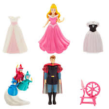 Aurora Dress Up Figure Set Disney Fun Pinterest Aurora Dress