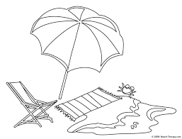 Fancy Beach Coloring Page 47 In Free Colouring Pages With