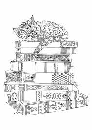 Kitten Coloring Pages For Adults