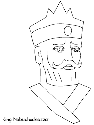 Nebuchadnezzar Bible Coloring Pages