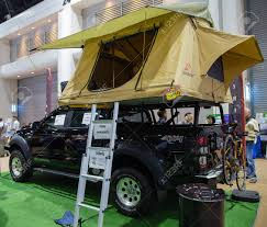 100 Pick Up Truck Tents Bangkok Thailand November 2 2017 Car Roof Top Extended Tent