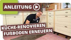 Küche Boden Verlegen Fußboden Erneuern Ohne Küchen Ausbau