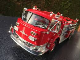 100 Model Fire Truck Kits American La France Pumper Scale 124 AMT Build By
