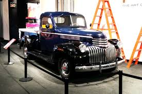 At The Petersen: Pickups -- The Art Of Utility Photo & Image Gallery 1941 Chevy Pickup Street Rod Chevrolet Pickup Truck Inline 6 Chevy Truck Youtube Products For Sale Classiccarscom Cc1077887 Gateway Classic Cars 760det Tylons Blog Chevy Rat Rod Farmers Market Special Canopy Express Truckfinished Scale Auto Magazine For Building Auctions Stake Body Owls Head