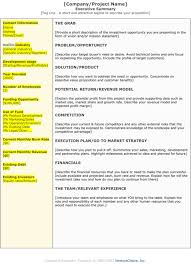 Real Estate Executive Summary Template Printable Templates Of