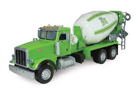 Amazon Ertl Big Farm Peterbilt Model With Cement Mixer Large Colors ...