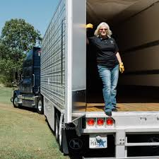 100 Big Blue Trucking Drawn By The Salary Women Flock To WSJ