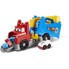 100 Big Truck Toys Mega Bloks Build Race Rig