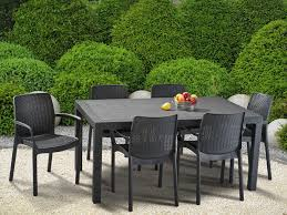 Keter Lounge Chairs Grey by Keter Melody 6 Seater Rattan Outdoor Patio Garden Furniture Dining