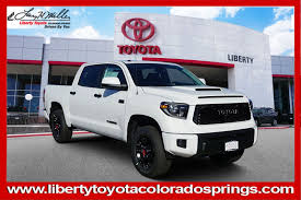 100 Trucks For Sale In Colorado Springs New 2019 Toyota Tundra 4WD TRD Pro Crew Max Pickup