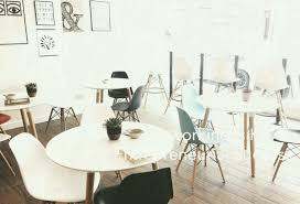 Empty Tables Chairs Hipster Edit Expect