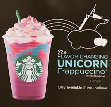 Im Not Saying Ive Tried The Starbucks Unicorn Frappuccinno Already And That It Tastes Like Shit Just Certain This Is Exactly What A Unicorns