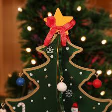 Nicexmas Christmas Tree Top Star Topper Star Tree Ornament Red