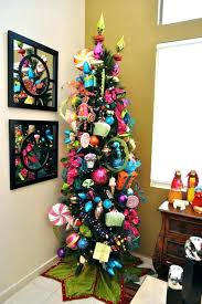 Tall Slim Christmas Tree Pencil Trees Skinny Lit Incandescent Artificial Extra Best 9 Candy