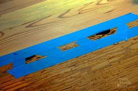 Wood Floor Leveling Filler by How To Fill Voids And Knot Holes In Wood