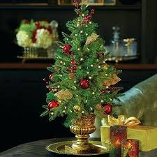 Table Top Christmas Trees With Lights Small Tabletop Tree Sensational Dubious Lighted Home Design Ideas