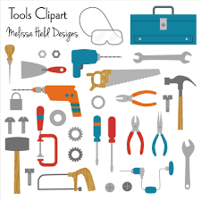 Tools Clipart Illustration Carpenter Cartoon Concept Stock Woodworking Industry Icons