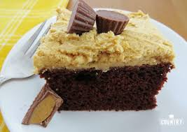 Reese s Peanut Butter Cake The Country Cook