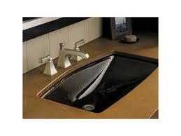 Kohler Bathroom Sink Faucets Widespread by Faucet Com K 454 4v Bv In Brushed Bronze By Kohler