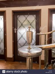 Silver Banister Detail In 1930s Art Deco Home Stock Photo, Royalty ... Sol Kogen Edgar Miller Old Town Feature Chicago Reader Model Staircase Black Banister Phomenal Photos Design Best 25 Victorian Hallway Ideas On Pinterest Hallways Hallway Avon Road Residence By Bhdm 10 Updating A 1930s Colonial House To Rails Top Painted Stair Railings Ideas On Skylight And Lets Review All My Aesthetic Choices In One Post Decoration Awesome Fixtures Wall Lights Over White Color I Posted Beauty Shot Of New Banister Instagram The Other Chads Crooked White Oak Staircases 2 Paint Out Some Silver Detail Art Deco Home Stock Photo Royalty Spindles Square Newel