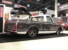 Roadster Shop Craftsman '69 Chevy C10 Truck On Forgeline CF3C ...
