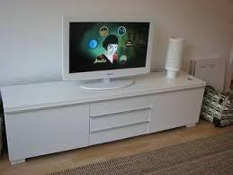 Besta Burs Desk 180cm by Ikea Besta Burs Tv Bench High Gloss White Zoomly