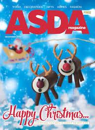 Pre Lit Slim Christmas Tree Asda by Asda Magazine December 2014 By Asda Issuu