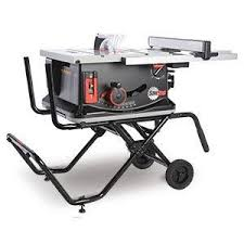 Sawstop Cabinet Saw Australia by Sawstop Jss Mca Jobsite Saw With Mobile Cart Amazon Com