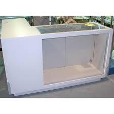 100 Countertop Glass LShaped Display Case Showcase W 71 L