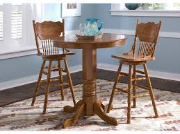 Liberty Furniture Bar And Game Room Round Pub Table Top 10-PUB42 ...