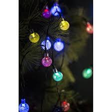globe lights for trees