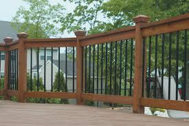 Horizontal Deck Railing Ideas by Home Design Rustic Deck Railing Ideas Building Designers