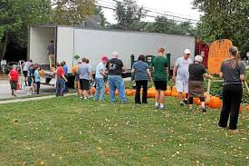 Tims Pumpkin Patch by Seasonal Pumpkin Patch Evolves Into Ridley Park Tradition