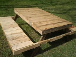 Build A Picnic Table Out Of Pallets by 35 Best Picnic Tables Images On Pinterest Picnics Home And Projects