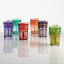 Moroccan Tea Glasses Set Of 6