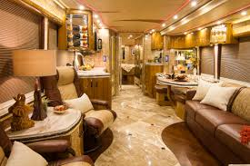 Marathon Custom Coach Converted On A Prevost Double Slide Chassis Features Glamorous Interior And Exterior Designs That Redefine What Luxury Is