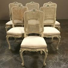 Set Of 6 Antique French Louis XV Painted Dining Chairs ... How To Transform A Vintage Ding Table With Paint Bluesky Pating My Antique Six Edwardian French Painted Chairs 364060 19th Century Country Set Of 6 Balloon Back Good 1940s Faux Bamboo Eight 1920s Pair Regency 2 Side White Chippy Chair Early 20th Louis Xvi Chairsset 8 Abc Carpet Home Style Fniture And European Buy Cheap Punched Wood Handpainted