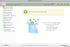 iSkysoft iPhone Data Recovery Coupon Code for Mac Review