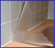 bathtub shower splash guards with adjustable wall angle