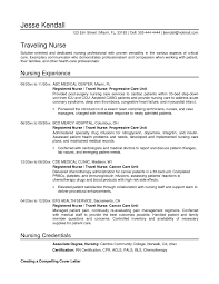 Nurse Resume Template 20 Sample